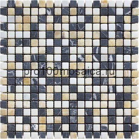 MT-06-15T (MT-06)  Мозаика Мрамор 15*15 MIX 305*305*10 мм (NATURAL)