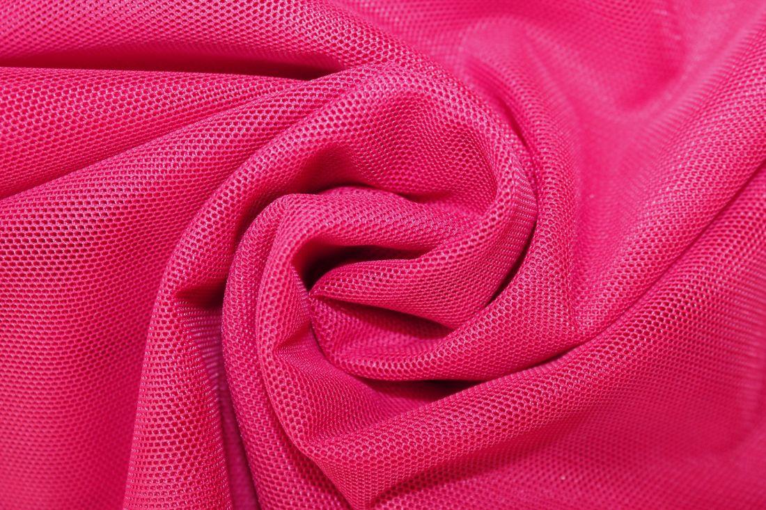 Сетка стрейч 20675  Розовый