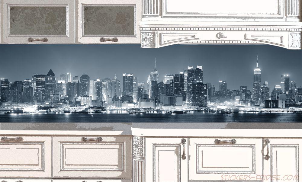 Фартук для кухни - New York 2