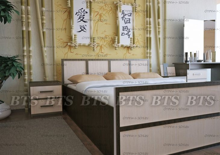 Спальня Сакура №4 BTS
