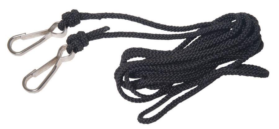 """Нейлоновые шнуры для рысачьих """"телефонов"""" с карабинами"""