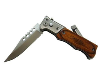 Нож Следопыт НТ-109 с фонариком
