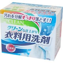 """Стиральный порошок с ферментом яичного белка """"Funs Clean"""", 900 г"""