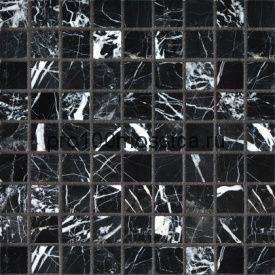 NERO MARQUINA Pol. 30х30. Мозаика серия STONE,  размер, мм: 305*305*7мм (ORRO Mosaic)
