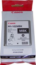 Картридж оригинальный CANON PFI-102MBK Matte Black