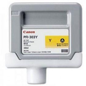 Картридж оригинальный CANON PFI-303Y Yellow