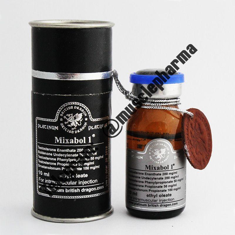 MIXABOL 1 (НА СУХУЮ МАССУ). 1 флакон * 10 мл