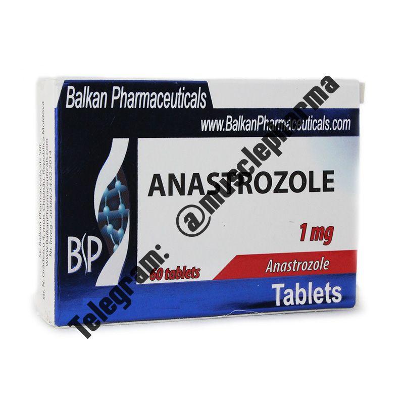 ANASTROZOL (BALKAN PHARMA). 20 таб. по 1 мг.