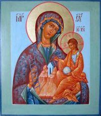 Путивльская икона Божией Матери (рукописная)