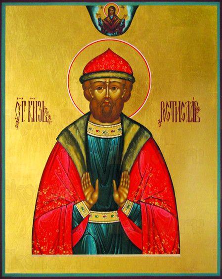Ростислав Киевский (рукописная икона)