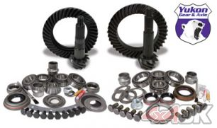 "Yukon Gear & Install Kit package for Jeep XJ with Dana 30 front and Chrysler 8.25"" rear, 4.56 ratio"