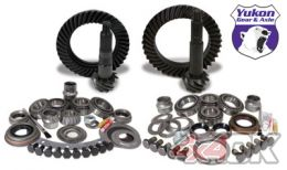 Yukon Gear & Install Kit package for Jeep TJ with Dana 30 front and Dana 44 rear, 4.88 ratio