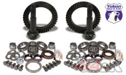 Yukon Gear & Install Kit package for Jeep TJ Rubicon, 4.56 ratio