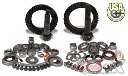 USA Standard Gear & Install Kit package for Jeep TJ with D30 front & Model 35 rear, 4.56 ratio