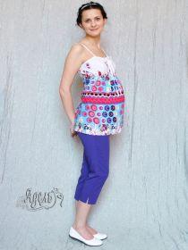 Капри летние К-16 для беременных