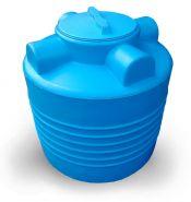 Бак пластиковый 200 л для технических жидкостей вертикальный цилиндрический