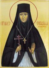 Икона Серафима Ферапонтовская (рукописная)