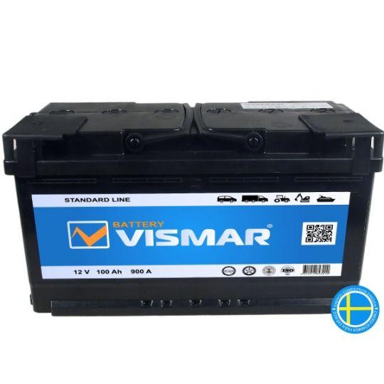 Автомобильный аккумулятор АКБ Vismar (ВИСМАР) 6СТ-100 100Ач п.п.