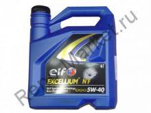 Масло моторное ELF EXCELLIUM NF 5W40 4л синтетика