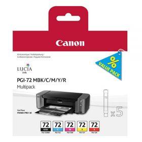 Картридж оригинальный CANON PGI-72 PBK/GY/PM/PC/CO Multi Pack