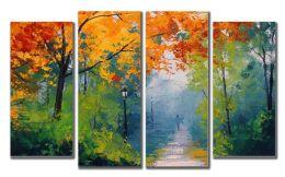 Осень живопись