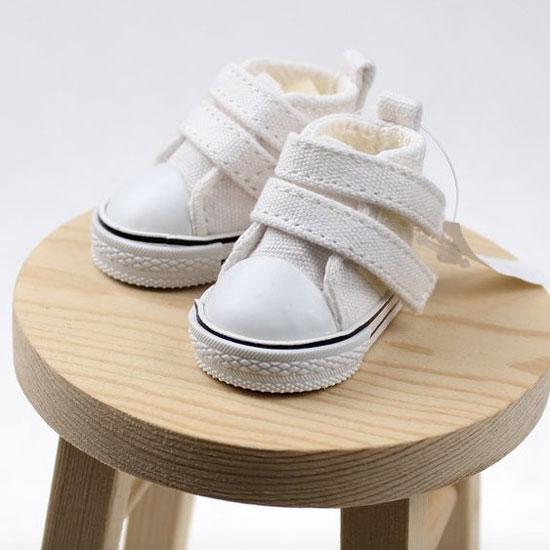 Обувь для кукол Кеды 5см (белые) УЦЕНКА