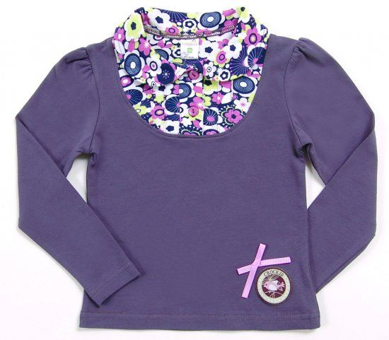 Блузка для девочки Цветочки