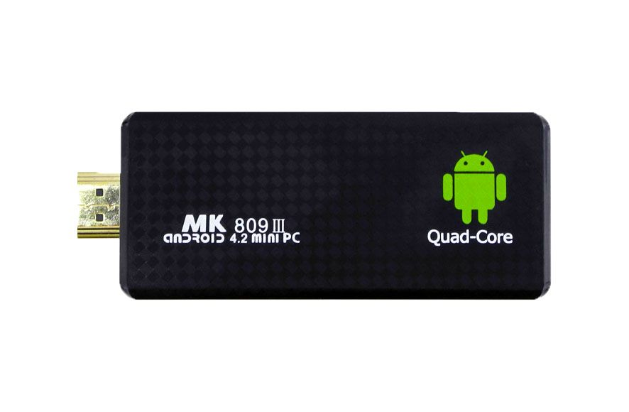 Мини-ПК MK809 III (Quad-Core 1,6GHz/2Gb/8Gb/Mali-400M/WiFi/BT/FullHD/Android)