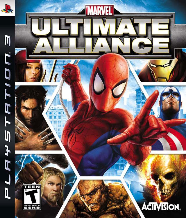 Игра Marvel Ultimate Alliance (PS3)