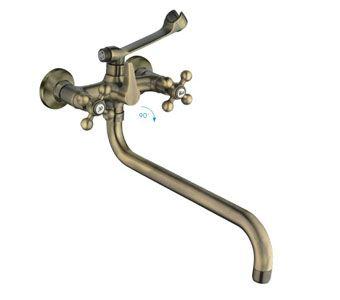 Frap F2619-4 Смеситель для ванны