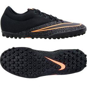 Шиповки-сороконожки Nike MercurialX Pro TF чёрные