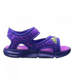 Детские босоножки adidas Zump C фиолетовые