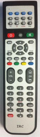 Пульт IRC ONIKS TV,AUX 118F