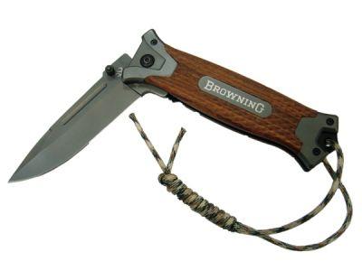 Нож Следопыт НТ-127 с клипсой