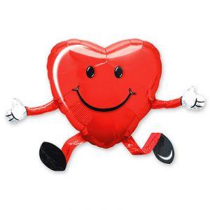 Шар ходячий Сердце (48 см.)