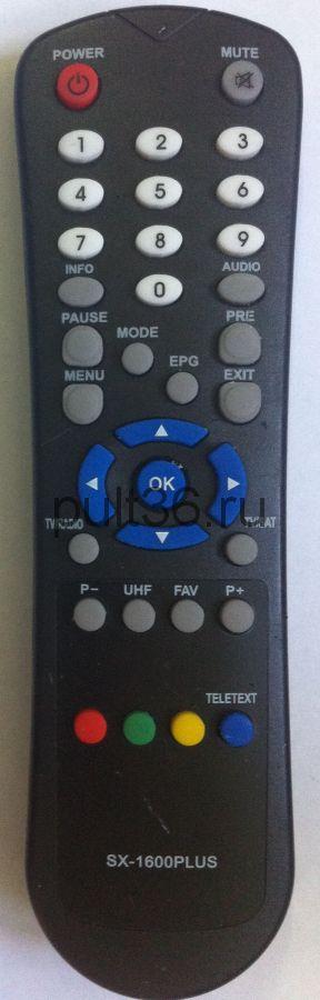 Пульт ДУ Globo RC-6000/ NEOSAT-1600PLUS / ic HOF47A7 / SAT LUMAX DV-698