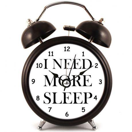 Прикольный Будильник I need more sleep