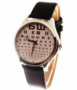 Прикольные наручные часы Буквы