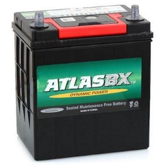Автомобильный аккумулятор АКБ ATLAS (Атлас) MF42B19L 38Ач о.п.