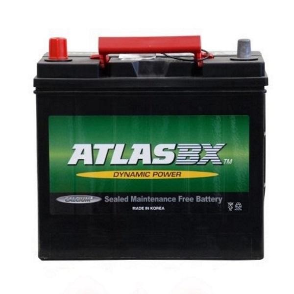 Автомобильный аккумулятор АКБ ATLAS (Атлас) MF55B24R 45Ач п.п.