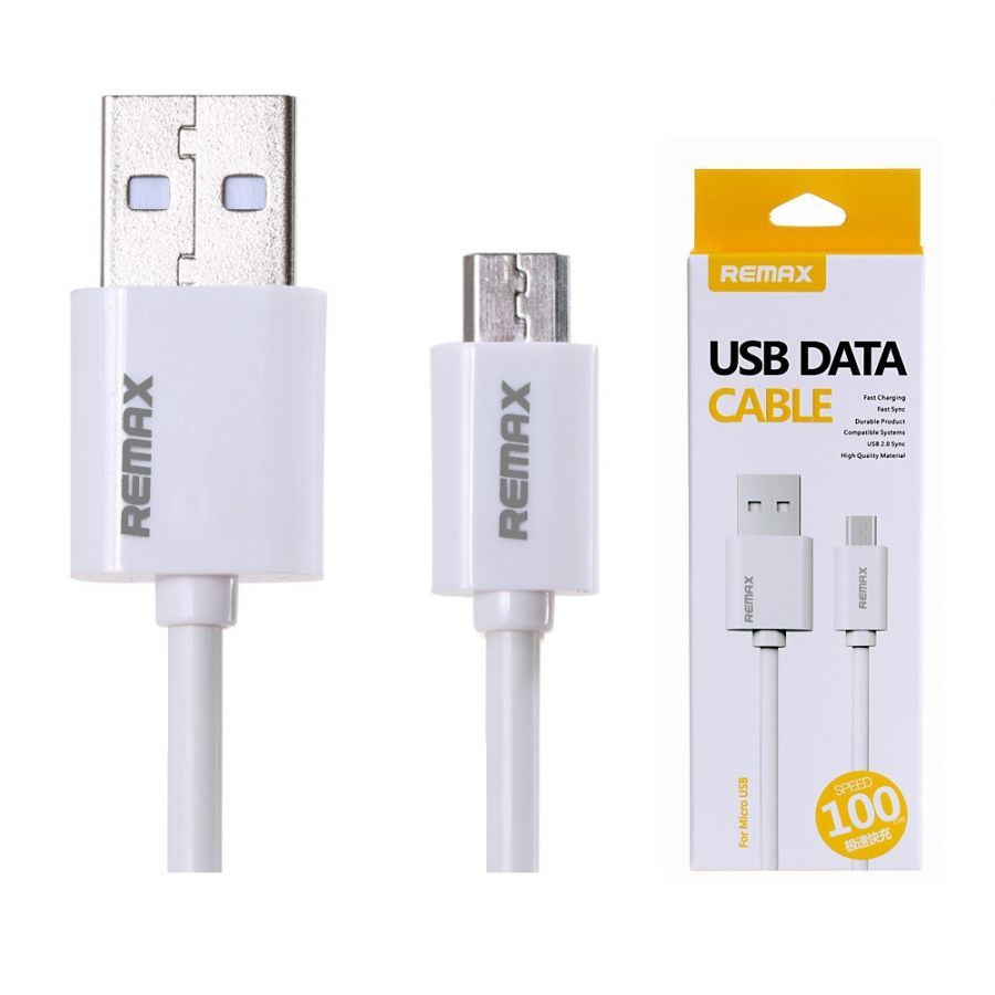 Шнур micro USB Remax (простой)