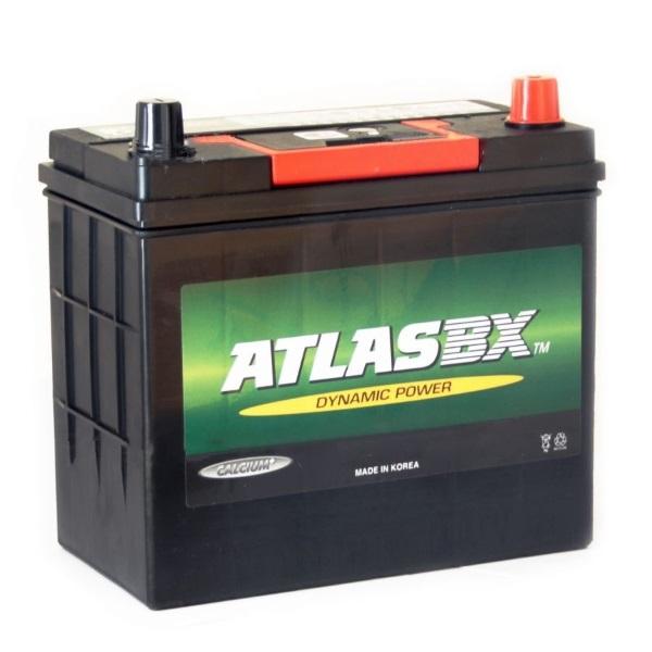 Автомобильный аккумулятор АКБ ATLAS (Атлас) MF54523 45Ач о.п.
