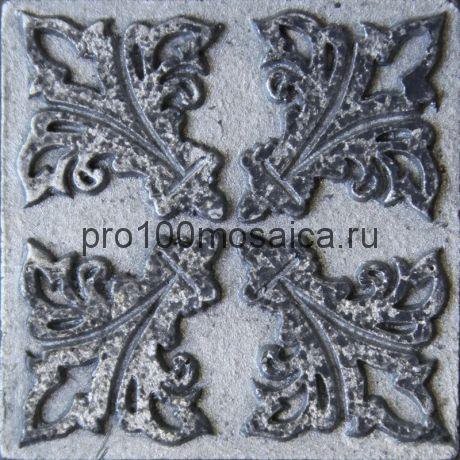 D 02/03 Декор 48*48 серия DECOS, размер, мм: 48*48*10 (Skalini)