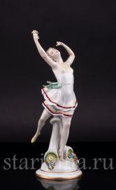 Танцующая девушка, Scheibe-Alsbach, Германия, сер 20 в
