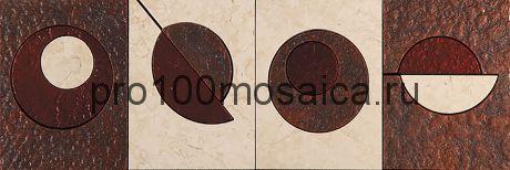 MC-3 Бордюр 305*100 серия MODERN CIRCLE, размер, мм: 305*100*10 (Skalini)