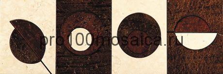 MC-4 Бордюр 305*100 серия MODERN CIRCLE, размер, мм: 305*100*10 (Skalini)