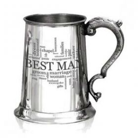 """Кельтский Танкард -Best Man """"Лучший мужчина"""", (объём. 1 пинта)"""