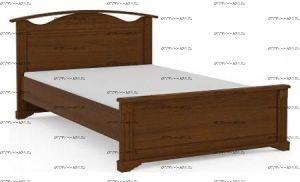 Кровать Итальянские мотивы б/о (51.103.00-04) МДФ