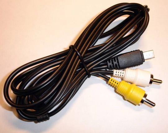 A/V кабель фото Casio