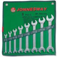W25108S Набор ключей рожковых 6-22мм JONNESWAY, 8 предметов